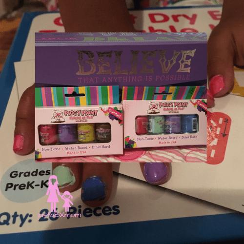 piggy paint, scented nail polish, review, kids polish, manicures, pedicures