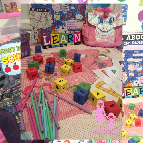 pencils, learning words, blocks, bixbee, oriental trading