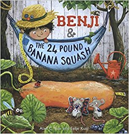 benji and the 24 pound banana squash, book review, children's book