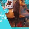 sprit riding free, lucky, breyer, netflix, justplay