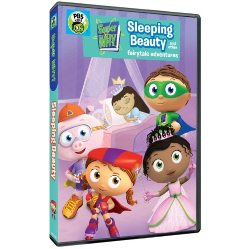 super why, sleeping beauty, fairy tales