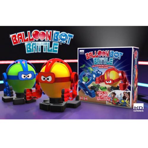 kd interactive, balloon bots, rockem sock em