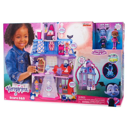 vampirina, scare b&b, disney kids, disney jr, play set, wish list