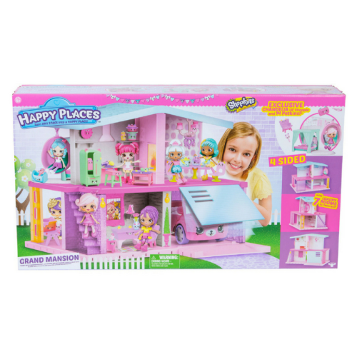 shopkins mansion, happy places mansion, doll house, happy places