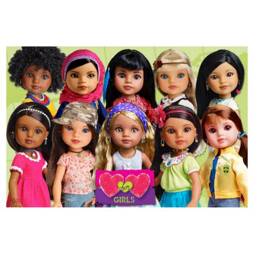 heart for heart girls, heart for heart dolls, change the world