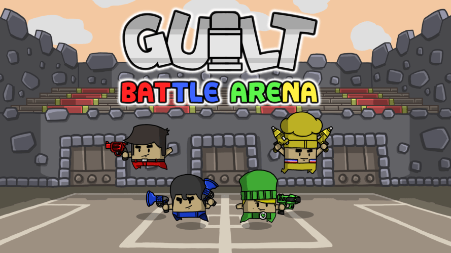 guilt battle arena, shooting game, xbox one, ps4, nintendo switch