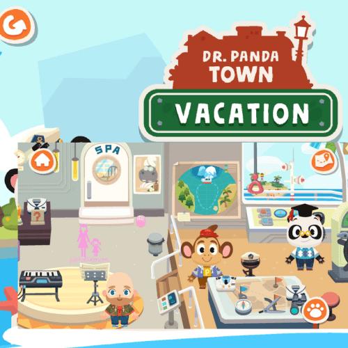dr panda, dr panda vacation, kids apps