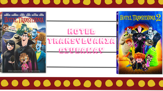 hotel transylvania, hotel transylvania 2, hotel transylvania 3, giveaway, dvd, dvd giveaways