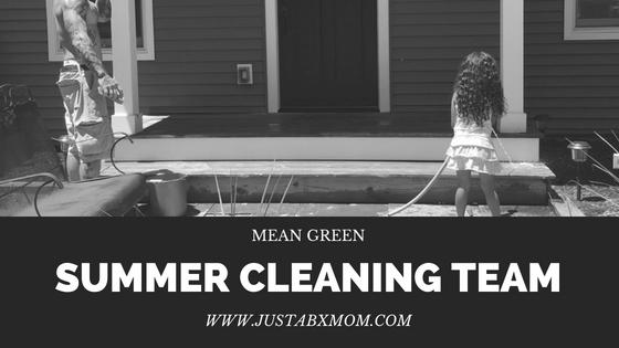 mean green clean team