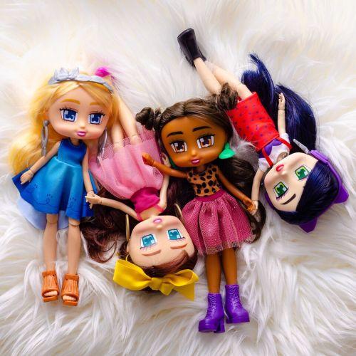 boxy girls, unboxing toy, dolls, hot item, riley, brooklyn, emma, as seen on tv