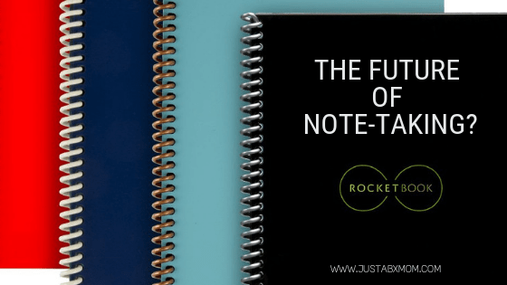 rocketbook, everlast rocketbook, note-taking, digital notes, organizing