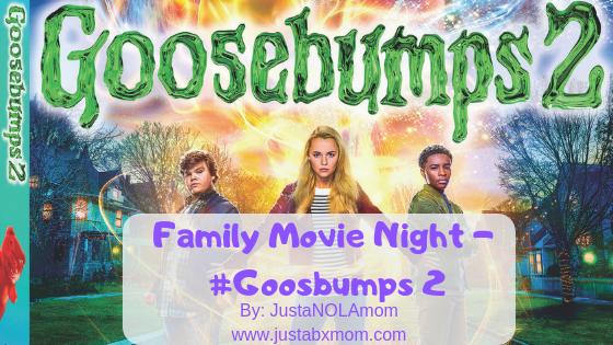 goosebumps, goosebumps 2, movie review