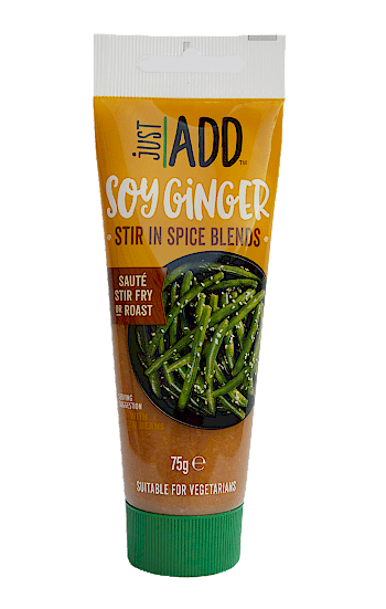 just add soy ginger puree