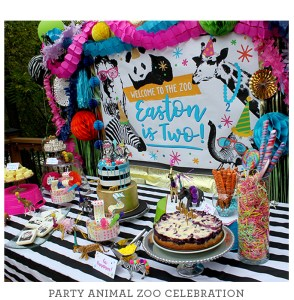 party animal, zoo party, kids party, kids birthday party, wild animals, just add confetti celebrations, just add confetti, welcome to the zoo, two year old party, party animal zoo party, party animal party
