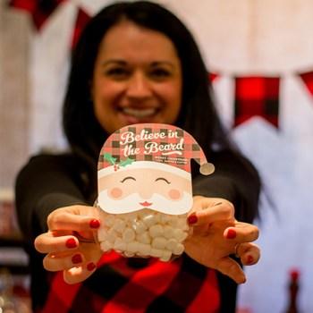 Believe in the Beard Santa Free Printable