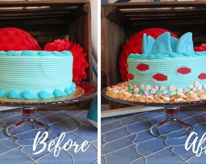 How to Transform a Store-Bought Cake Into a Shark Cake