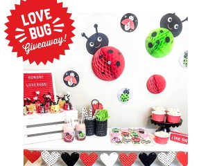 Kids Valentine's Day Love Bug Party (plus a Giveaway!)