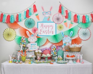 Whimsical Bunny Bonanza Easter Party (and awesome giveaway!)