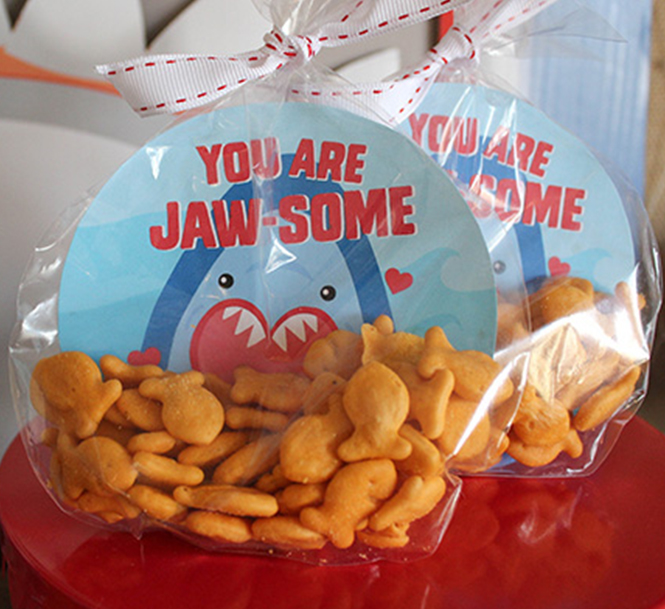 you are jaw-some, shark, shark valentine, kids valentine, school valentine, classroom valentine