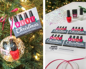 Mani Christmas Wishes Nail Polish Gift Idea