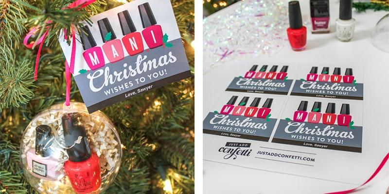 Mani Christmas Wishes Nail Polish Gift Idea