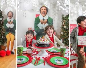 Elf Movie Night Christmas Party