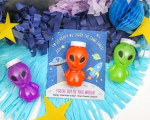 Alien Kids Valentine