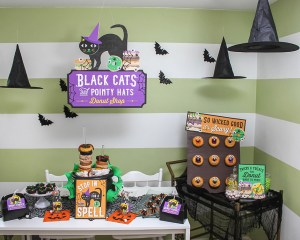 Halloween Donut Shop Party Ideas