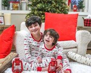 Kids Christmas pajama giveaway with Pajamas for Peace