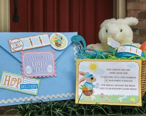 Surprise Easter Egg Hunt Gift Idea: Cottontail Express Mail Delivery!