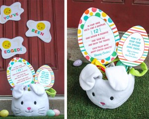 """""""You've Been Egged!"""" Easter Gift Idea for Neighbors and Friends"""