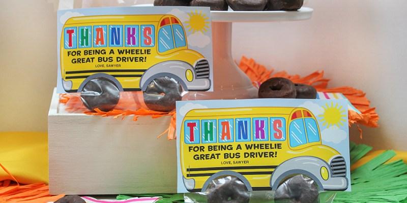 School Bus Donut Bus Driver Gift