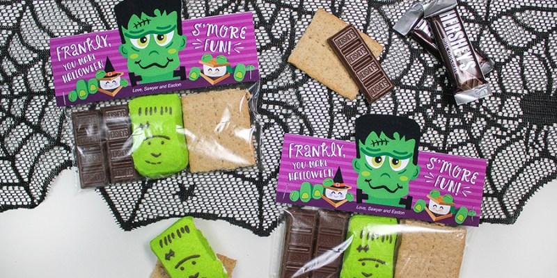 Frankenstein S'mores Halloween Treat