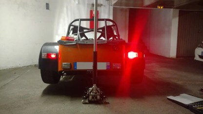 Caterham LED Rear Light Cluster MKII 7