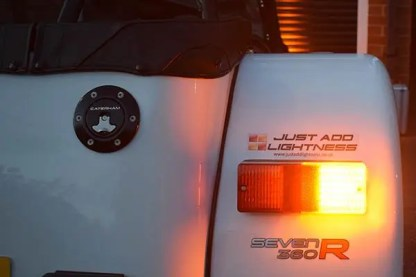 Caterham LED Rear Light Cluster MKII 5