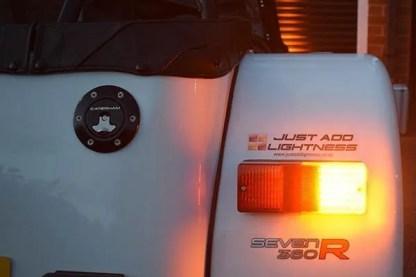 Caterham LED Rear Light Cluster MKII 4