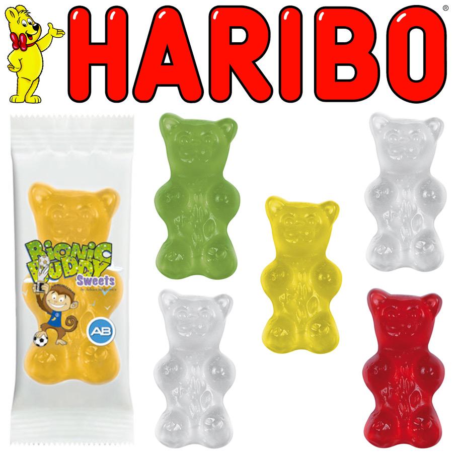 Promotional Haribo Big Bear Sweet Bag Branded Sweet Bags