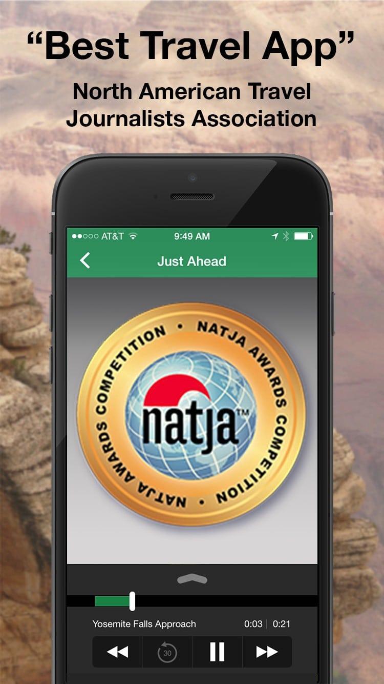 just ahead app best travel app
