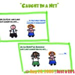 "Webcomic: ""Caught in a Net"""