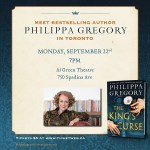 Meet Philippa Gregory in Toronto!