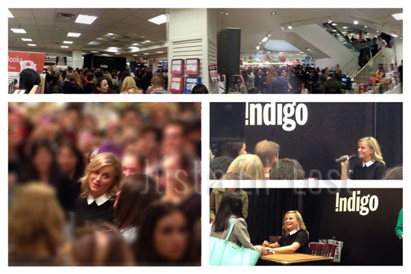 A panorama of the huge crowd waiting for Amy | Amy & Tatiana's entrance | The Interview | The Amy Meeting!