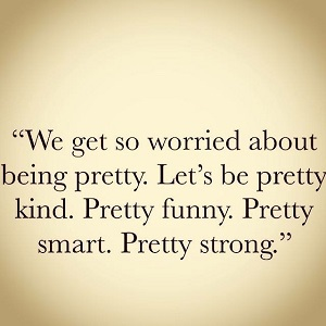 I originally saw this quote on Instagram and loved it. Looking it up, it looks like it's a quote from Britt Nicole