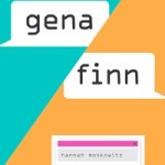 Blog Tour Review, Q&A + Giveaway: Gena/Finn by Hannah Moskowitz & Kat Helgeson