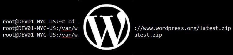 Setup WordPress via the Command Line