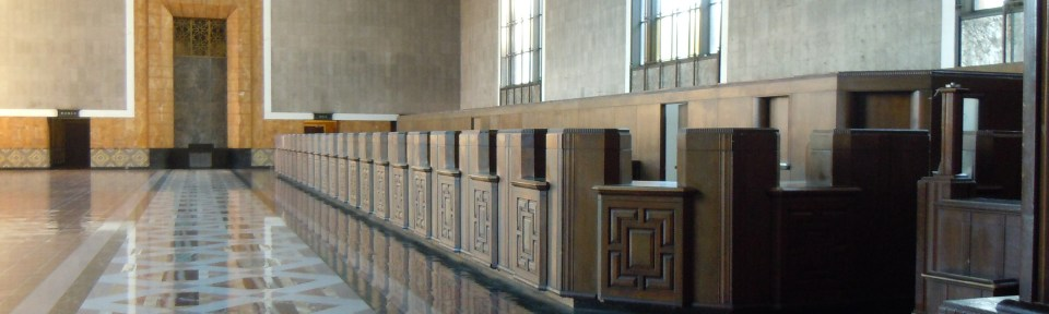 The Old Ticket Booths at Union Station