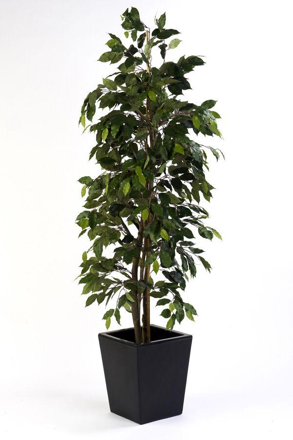 Artificial Silk Ficus Cane Tree FR Just Artificial