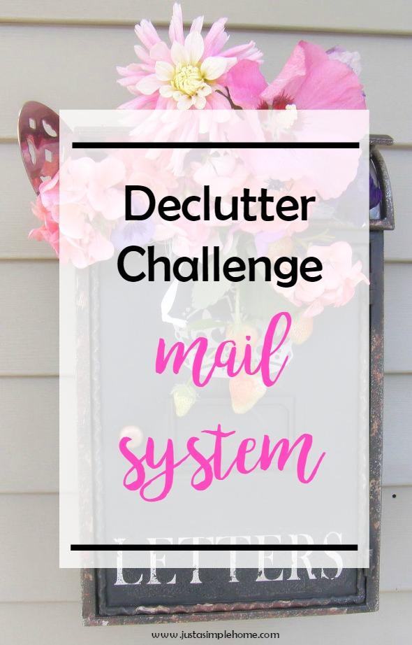 Declutter Challenge Mail
