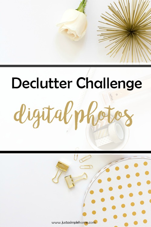 declutter challenge digital photos
