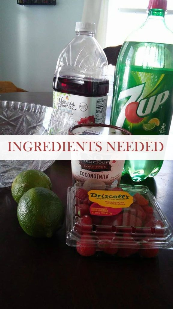7UP PUNCH INGREDIENTS