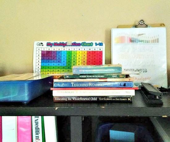 Organize Your Homeschool Room 10 Days of Homeschool Planning